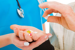 Drugs prescribed Stock Photo
