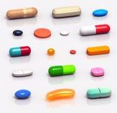 Drugs Set Stock Photos