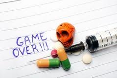 Drugs, Spel over Stock Afbeelding