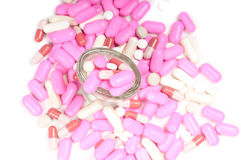 Drugs (tablets) Stock Images