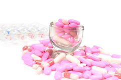 Drugs (tablets) Royalty Free Stock Images