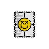 Drugs vlak pictogram Stock Afbeelding