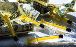 Drugspuit Stock Foto's