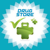 Drugstore Family Accept Icons, Sign, Button, Symbo Royalty Free Stock Photo