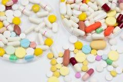 Drugtest in laboratorium Royalty-vrije Stock Afbeeldingen