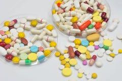 Drugtest in laboratorium Stock Afbeelding