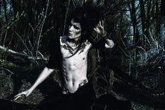 Druid αγόρι Στοκ φωτογραφία με δικαίωμα ελεύθερης χρήσης
