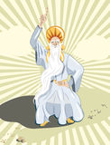 Druid priest Royalty Free Stock Images