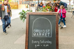 Druid Street market in Bermondsey Stock Photography