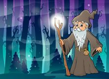 Druid theme image 4 Royalty Free Stock Image