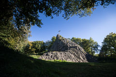 Druidenstein kamienni pobliscy kirchen Germany Zdjęcie Stock