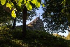 Druidenstein kamienni pobliscy kirchen Germany Obrazy Royalty Free