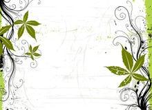 Druif. De achtergrond van Grunge. stock illustratie