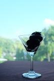 Druif in het glas Royalty-vrije Stock Afbeelding