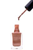 Druipend nagellak Stock Foto