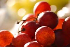 Druiven bij de markt Stock Fotografie