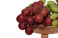 Druiven in de vaas Royalty-vrije Stock Fotografie