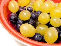 Druiven en Bosbessen Royalty-vrije Stock Afbeeldingen