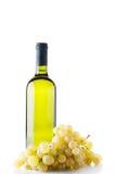 Druiven en wijn Royalty-vrije Stock Foto's