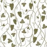 Druiven - herhaald naadloos behang, vectorillustratie vector illustratie