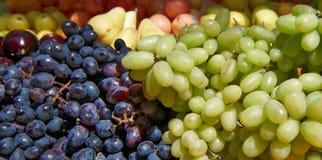 Druiven op de Markt Royalty-vrije Stock Foto