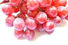 Druiven op wit Stock Foto's