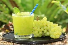 Druivesap smoothie royalty-vrije stock afbeeldingen