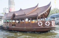 Druk boot Bangkok uit Royalty-vrije Stock Afbeeldingen