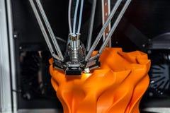 Druk 3d printer Royalty-vrije Stock Foto's