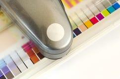 Druk die Hulpmiddel, spectrofotometer meten Royalty-vrije Stock Foto
