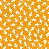 Druk Vector Abstract Geel wit blad als achtergrond vector illustratie