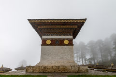 Druk Wangle Chorten, Punakha province Bhutan Sep 2015. Royalty Free Stock Images
