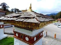 Druk Wangyal Chortens bij Dochula-Pas, Bhutan stock foto's