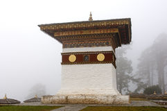Druk Wangyal Khangzang Chortens Royalty Free Stock Photo