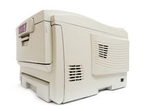 drukarka laserowa Fotografia Stock