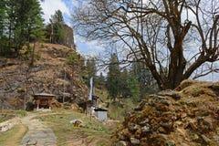 Drukgyel Dzong-Bhutan Arkivbilder
