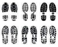 drukken van schoen Royalty-vrije Stock Foto's