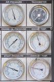 Drukmaat voor het meten van druk in het systeem royalty-vrije stock afbeeldingen