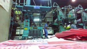 Drukowa maszyna zdjęcie wideo