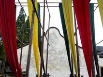 Drukowany barwiarstwa płótno Fotografia Stock