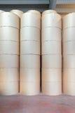 Drukowego papieru rolki Zdjęcia Stock