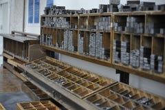 drukowy warsztat Zdjęcia Stock