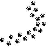 druku zwierzęcy spacer Obrazy Stock