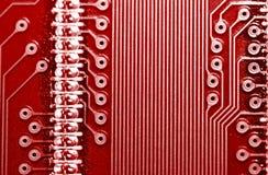 drukujący obwodu deskowy pcb Zdjęcie Stock