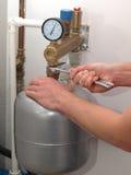 Drukvatreparatie royalty-vrije stock afbeeldingen