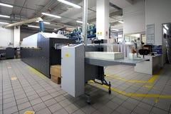 Drukwinkel - de Digitale machine van de persdruk royalty-vrije stock afbeelding