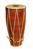 Drum. Original  indian djembe drum isolated Royalty Free Stock Image