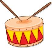 Drum. Illustration of drum on a white background vector illustration