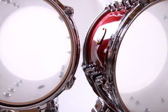 Drum. Two toms from a drumkit Royalty Free Stock Photos