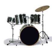 Drum. A complete drum on white background Royalty Free Stock Image